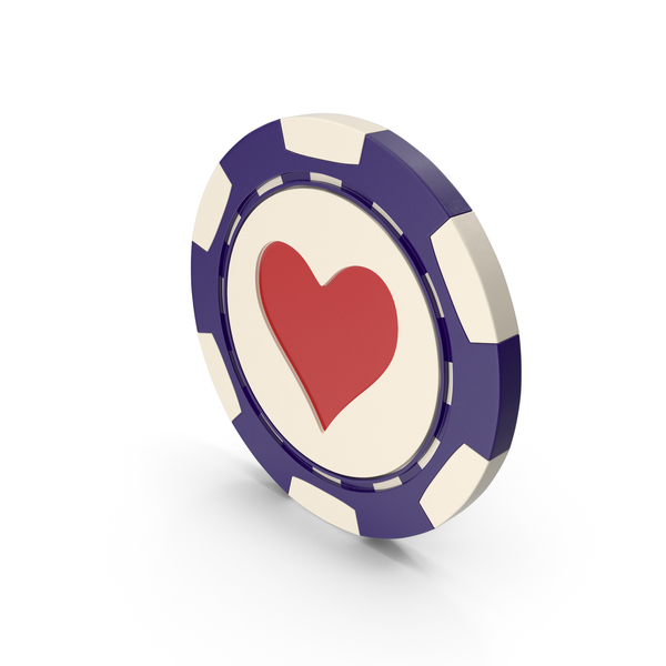 Poker: Hearts Casino Chip PNG & PSD Images