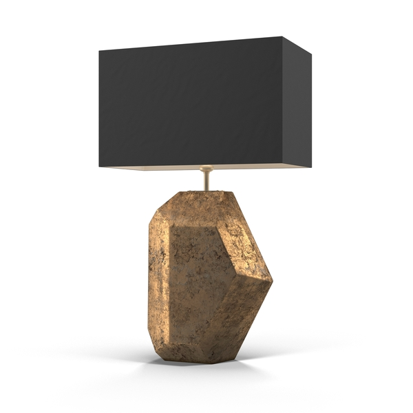 Table: Heathfield Renwick Gold Leaf Lamp PNG & PSD Images