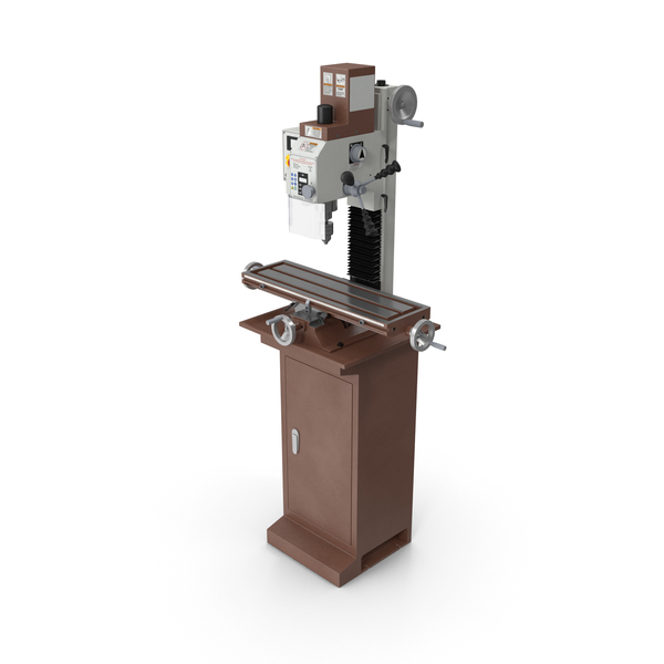 Manufacturing Machinery: Heavy Duty Drilling Machine Generic PNG & PSD Images
