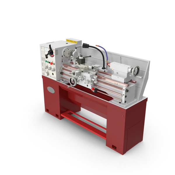 Heavy Duty Lathe Machine Generic PNG & PSD Images