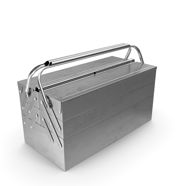 Heavy Duty Metal Cantilever Toolbox PNG & PSD Images