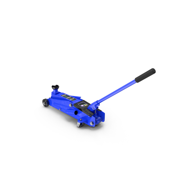 Heavy Duty Steel Trolley Jack PNG & PSD Images