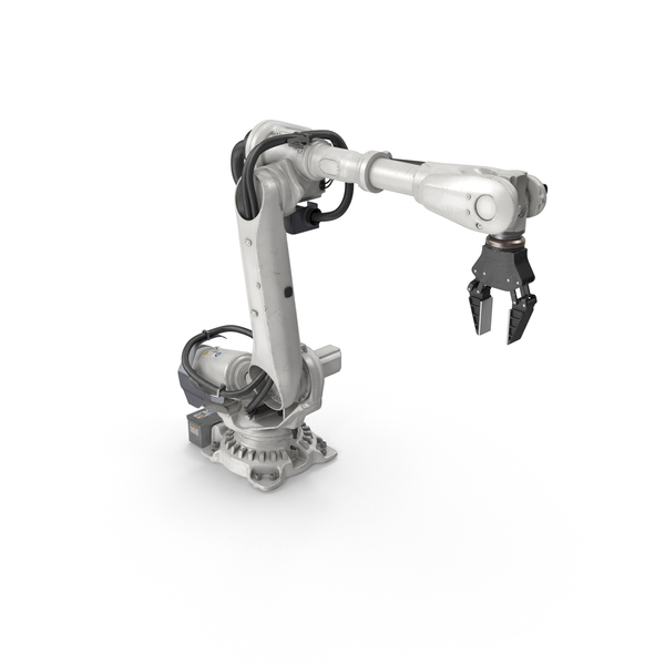 Heavy Robotic Arm with Gripper PNG & PSD Images