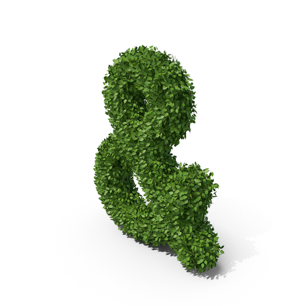 Hedge Ampersand PNG & PSD Images