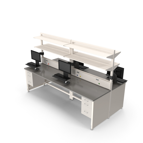 Laboratory Table: Height Adjustable Workbench PNG & PSD Images