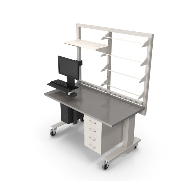 Height Adjustable Workbench PNG & PSD Images