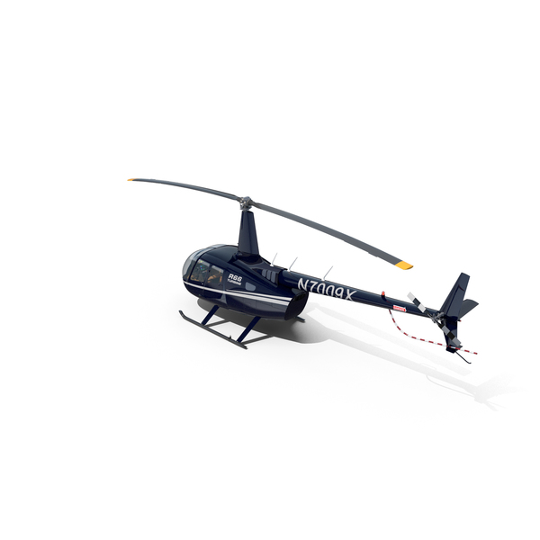 Helicopter Robinson R66 Turbine Red PNG & PSD Images