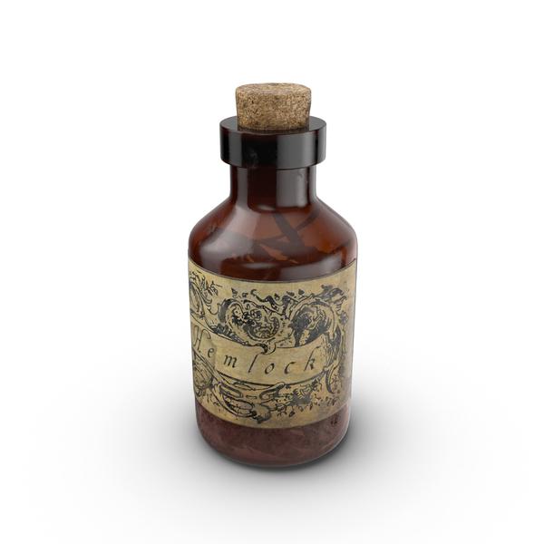 Potion: Hemlock Jar PNG & PSD Images