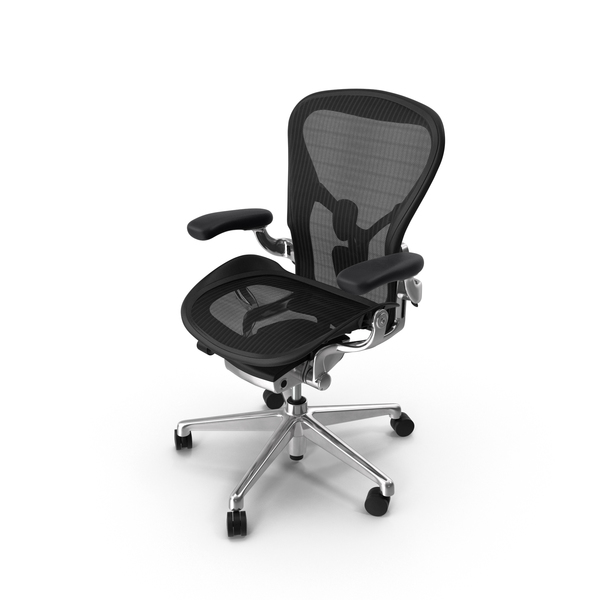 Herman Miller Aeron Chair PNG & PSD Images