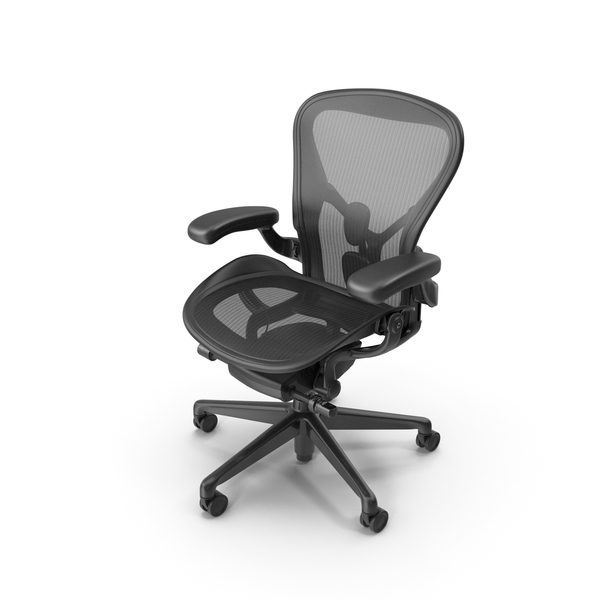 Herman Miller Aeron Office Chair PNG & PSD Images