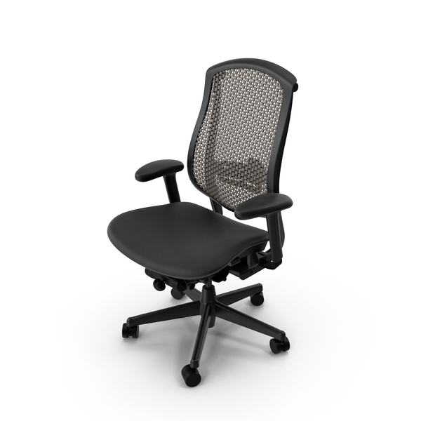 Herman Miller Celle Chair Mesh Back PNG & PSD Images