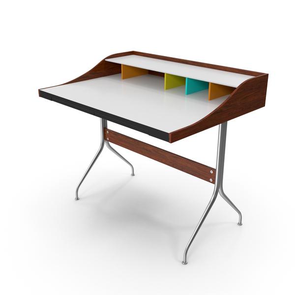 Herman Miller Nelson Swag Leg Desk PNG & PSD Images