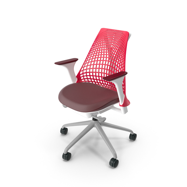 Herman Miller Sayl Red PNG & PSD Images