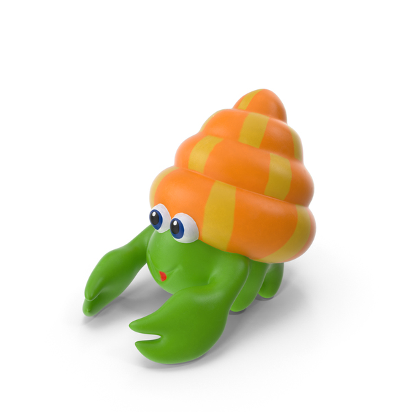 Hermit Crab Bath Toy Object