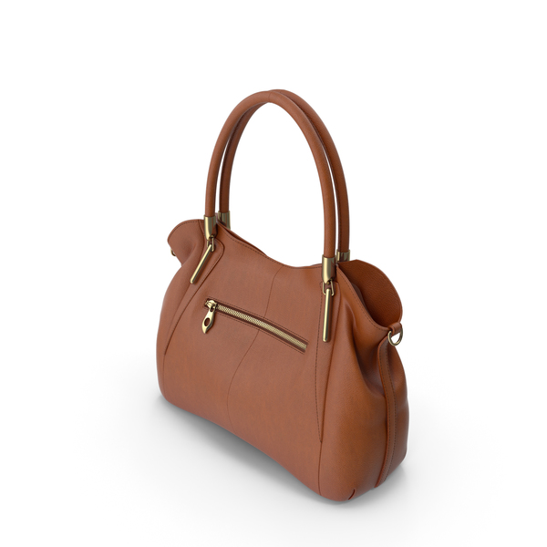 Heshe Women's Leather Handbag PNG & PSD Images
