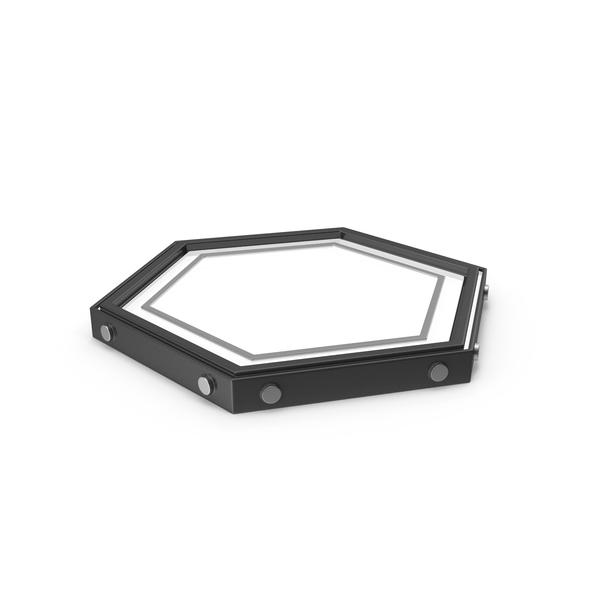 Hexagon Lamp Black PNG & PSD Images