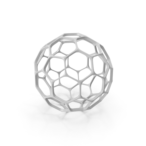 Hexagon Sphere Decoration PNG & PSD Images