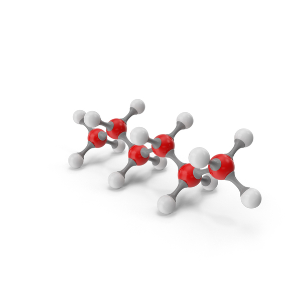 Hexane Molecular Model PNG & PSD Images