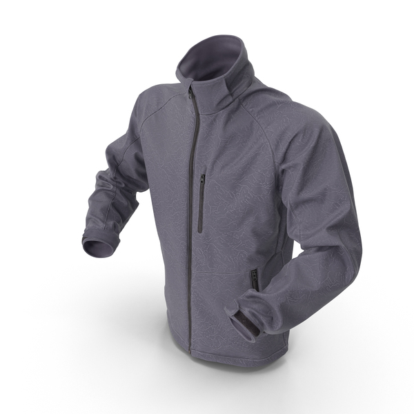 Hi Tech Male Winter Jacket PNG & PSD Images