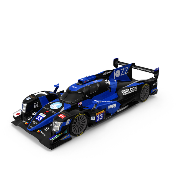 High Class Racing Team Oreca 07 LMP2 PNG & PSD Images
