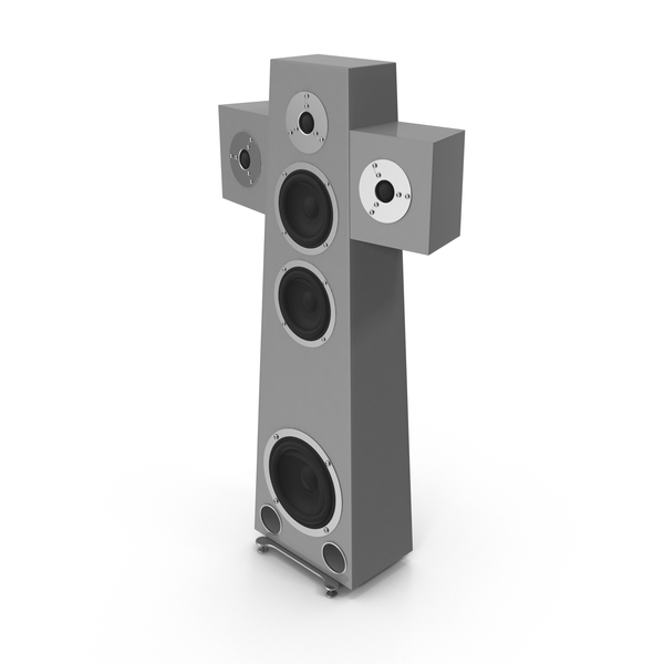 High End Speaker Grey PNG & PSD Images