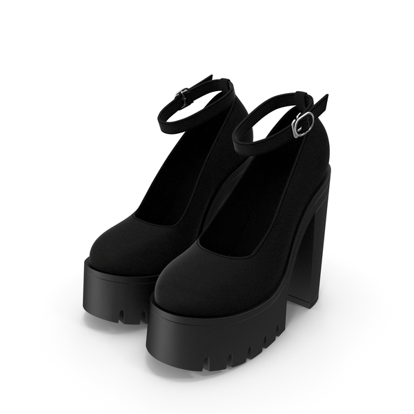 High Heels Platform Shoes PNG & PSD Images