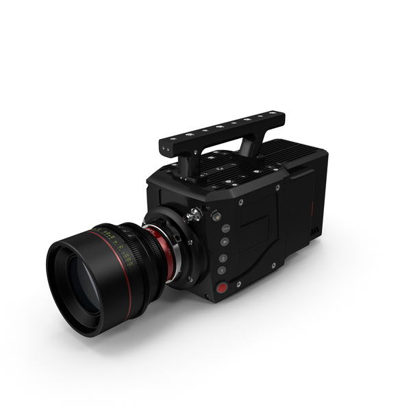 Professional Movie: High Speed Digital Camera Phantom Flex4K PNG & PSD Images
