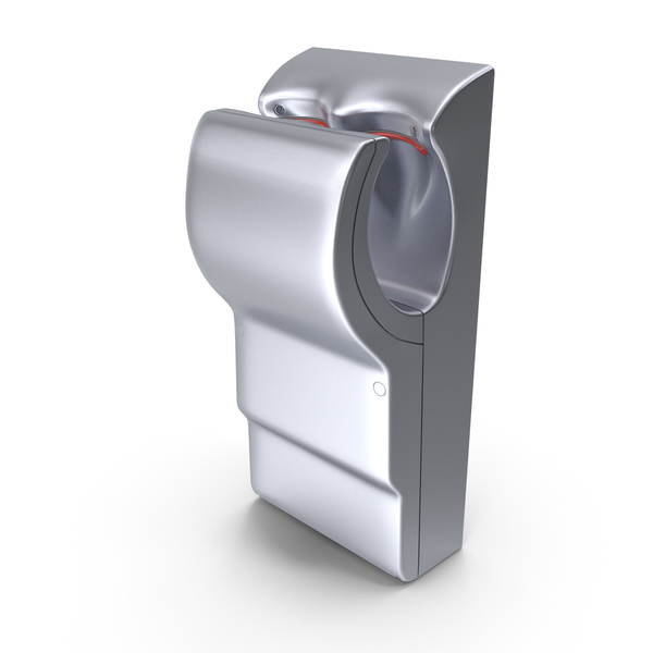 High Velocity Vertical Hand Dryer PNG & PSD Images