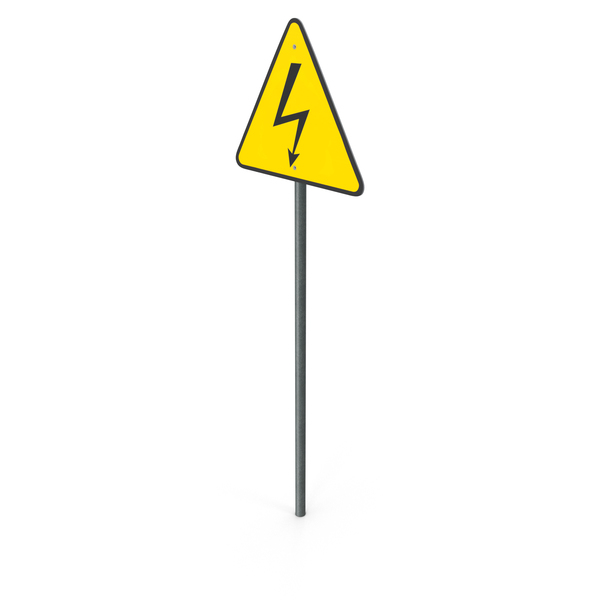 High Voltage Sign PNG & PSD Images