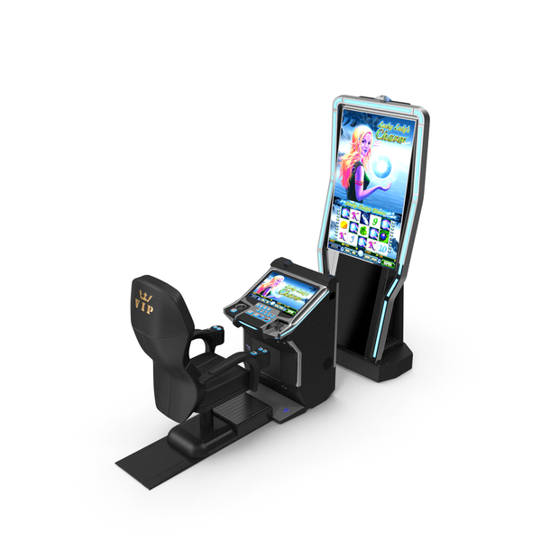 Arcade Games: Highly Comfortable VIP Gaming Machine PNG & PSD Images