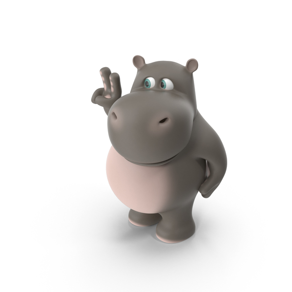 Cartoon Hippopotamus: Hippo PNG & PSD Images