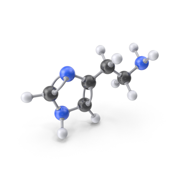 Histamine Molecule PNG & PSD Images