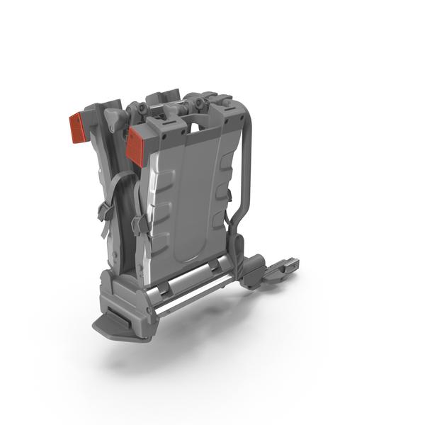Bicycle Carrier: Hitch Bike Racks Platform Folded PNG & PSD Images