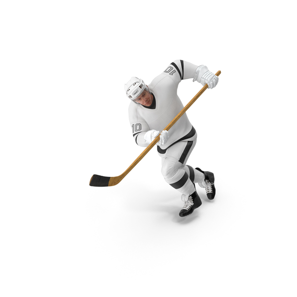 Hockey Attacker Character 01 PNG & PSD Images