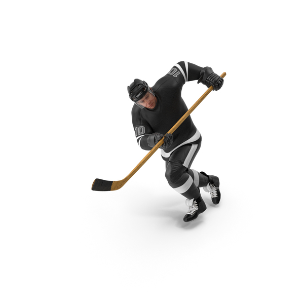 Hockey Attacker Character 02 PNG & PSD Images