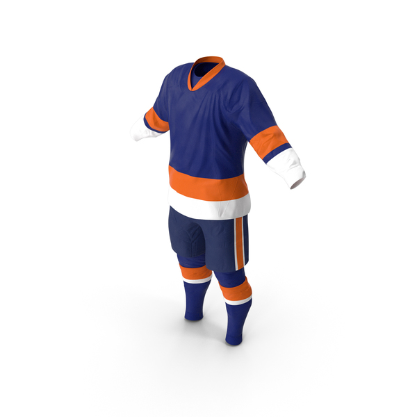 Hockey Clothes Blue PNG & PSD Images