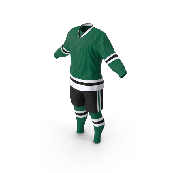 Gear: Hockey Clothes Green PNG & PSD Images