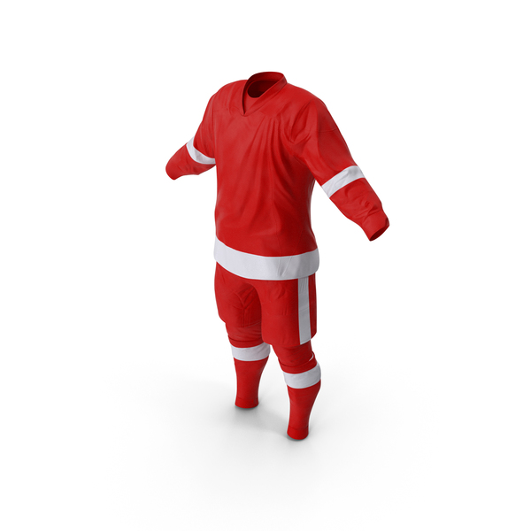 Hockey Clothes Red PNG & PSD Images