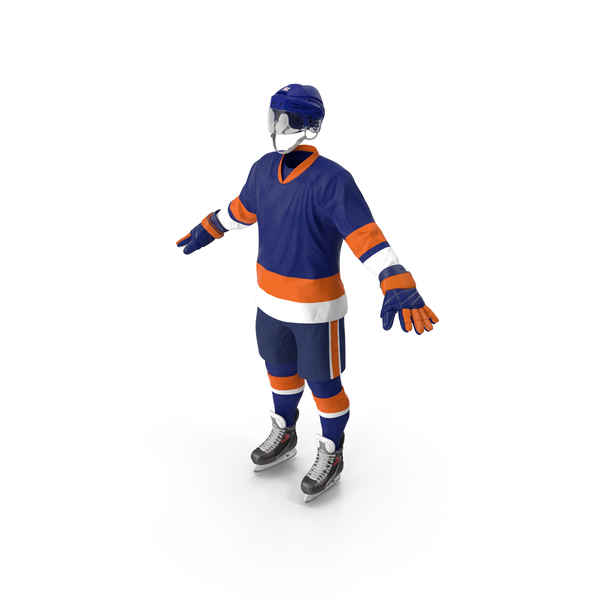 Hockey Equipment Blue PNG & PSD Images