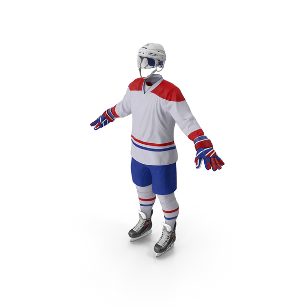 Hockey Equipment White PNG & PSD Images