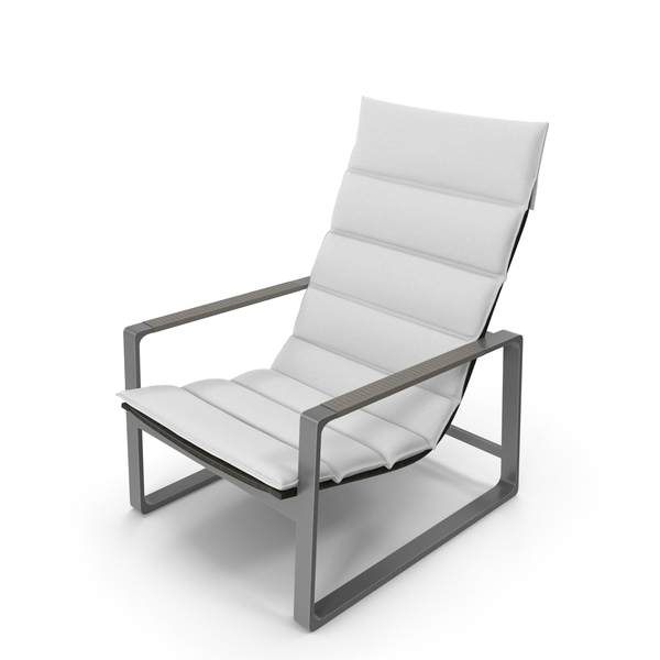 Holly Hunt Heron Lounge Chair PNG & PSD Images