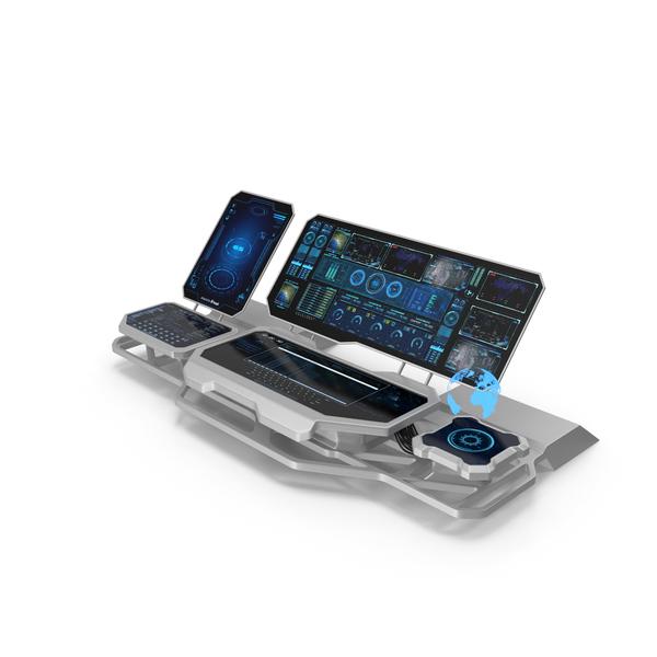 Hologram Remote Control Panel PNG & PSD Images