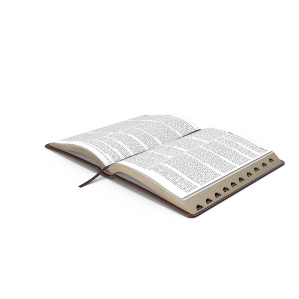 Holy Bible Opened Book PNG & PSD Images