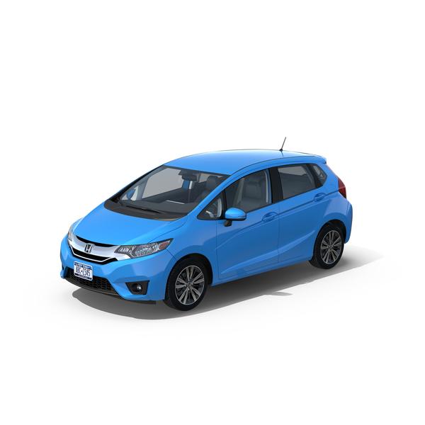 Hatchback: Honda Fit 2015 PNG & PSD Images