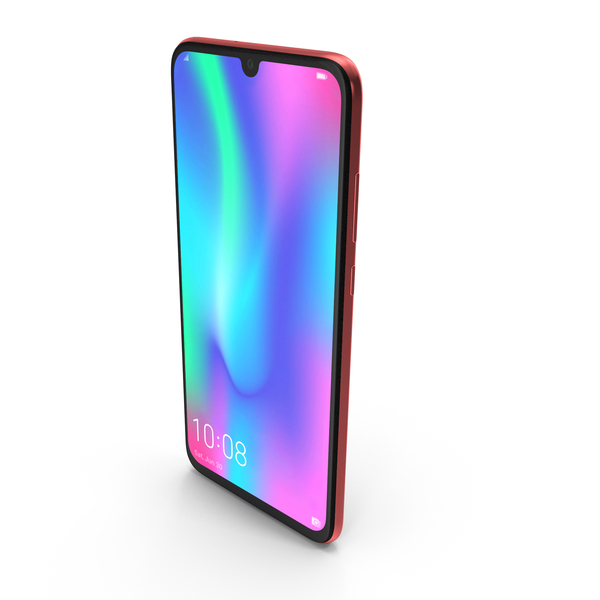 Honor 10 Lite Gradient Red PNG & PSD Images