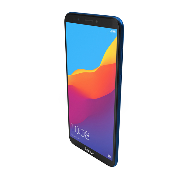 Honor 7C Blue PNG & PSD Images