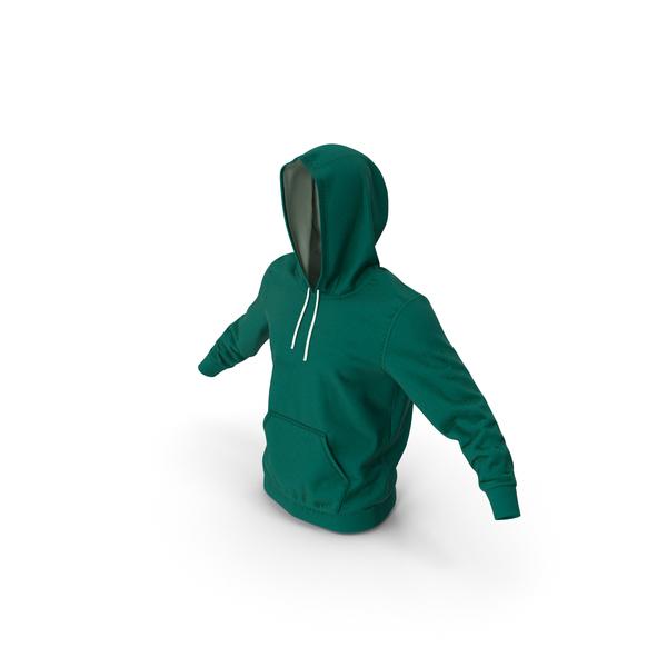 Sweatshirt: Hoodie Raised Hood PNG & PSD Images