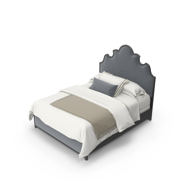 Hooker Beaumont Bed PNG & PSD Images