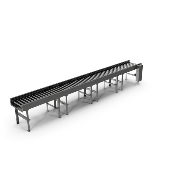 Horizontal Roller Conveyor Belt PNG & PSD Images