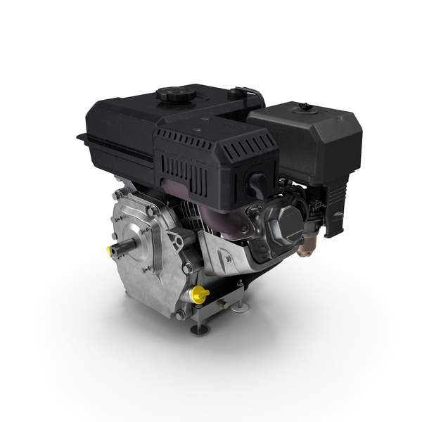 Horizontal Shaft Gas Engine PNG & PSD Images